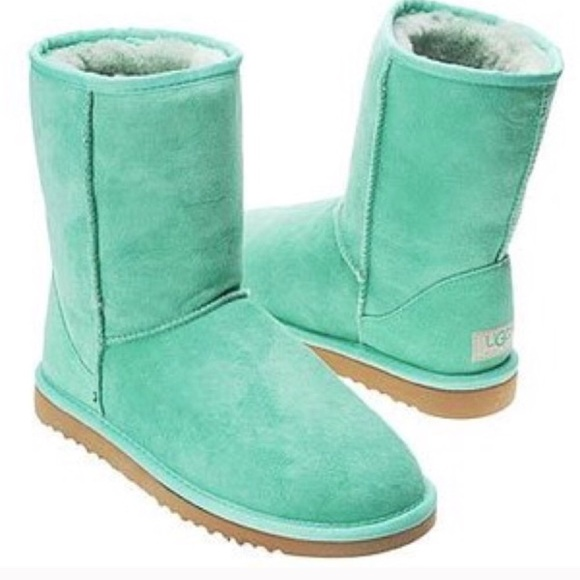 Authentic Classic Aqua Uggs